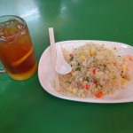 Repas Maxwell Food Centre Singapour