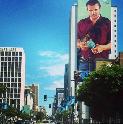 gta 5 publicité los angeles