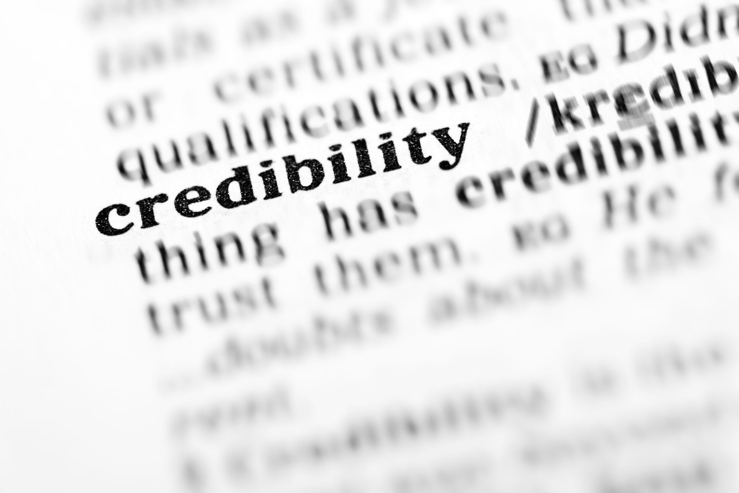 credibilite
