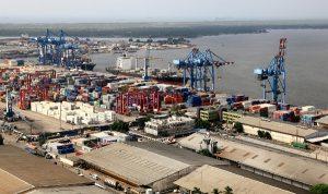 bolloré port d'Abidjan