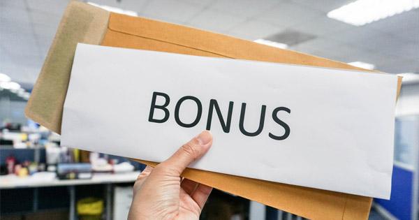Bonus et remboursements