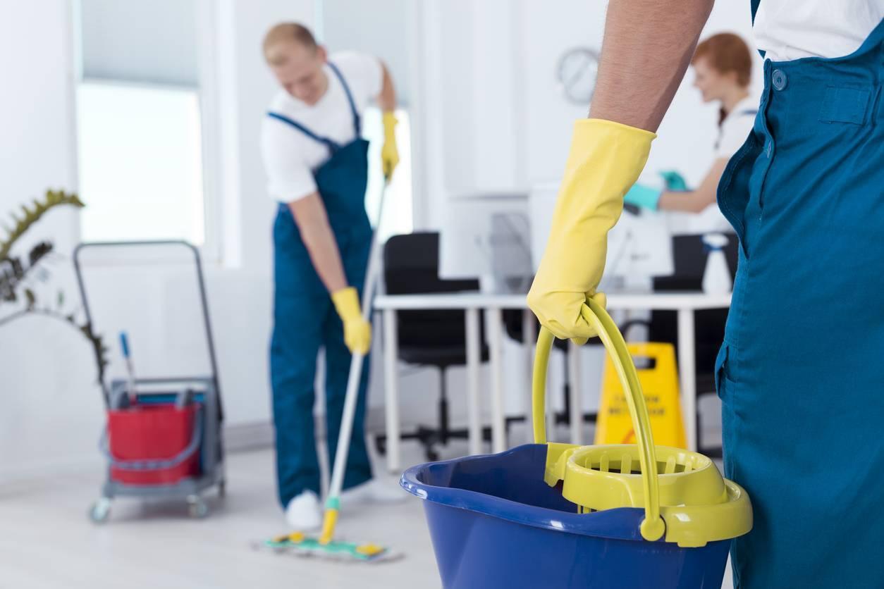 Entretien des locaux professionnels, faites appel à une entreprise de nettoyage